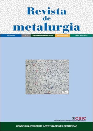 Imagen de Cubierta: Microestructura de la aleación Al-Si 12 atacada con una solución de ácido fluorhídrico al 0,5% en volumen